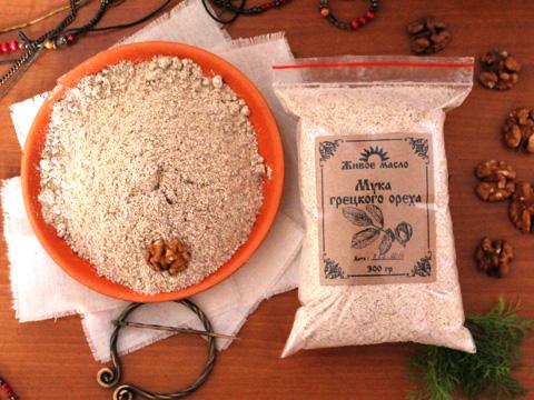 Как сделать муку из грецкого ореха в домашних условиях
